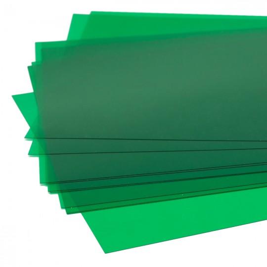 Плёнка ПВХ, зелёный, DIN A-4 SCHULCZ