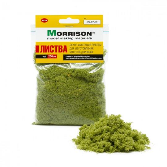 Имитация листвы. Лесная зелень. Morrison.