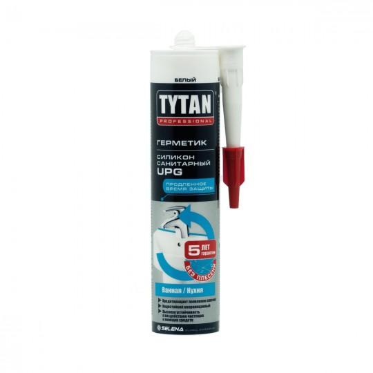 Герметик Tytan Professional силикон санитарный UPG белый