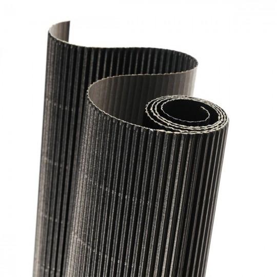 Картон гофрированный 314г/кв.м 500х700мм №29 черный