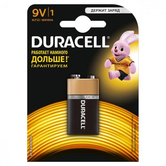 Батарейка крона Duracell 9V