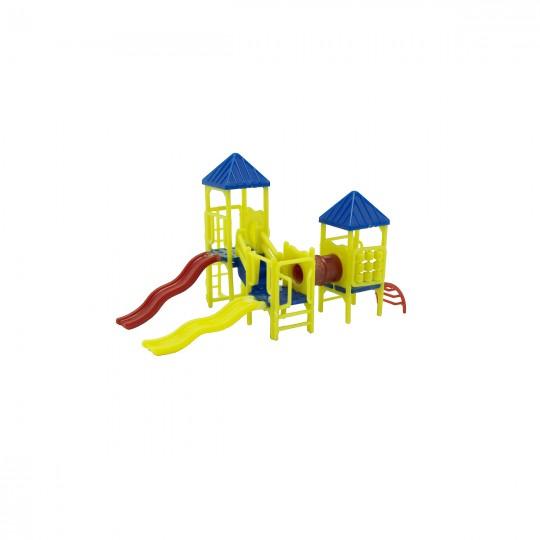 Модель детской площадки. Масштаб 1:150