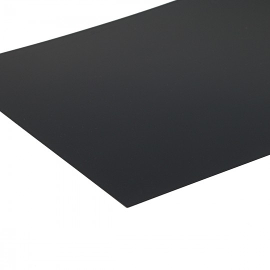 Пластик черный 300*200*0.5мм SCHULCZ