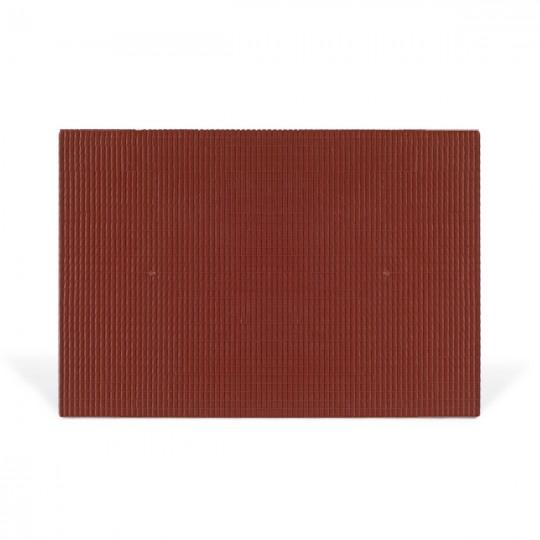 Лист черепица красная 1:200, 150*220*2 мм. (3 листа) SCHULCZ
