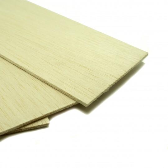 Бальза лист 1*100*500 мм (пластина)