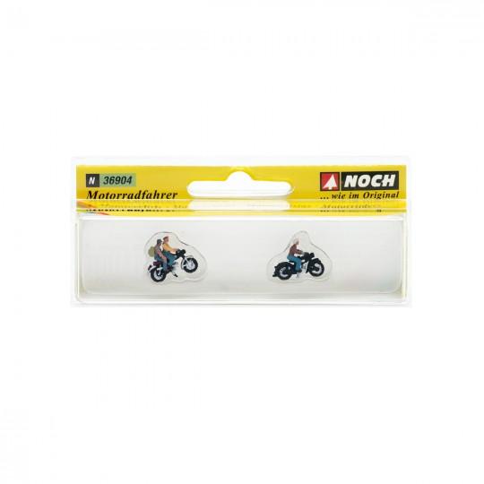 Модели людей на мотоциклах. NOCH 36904